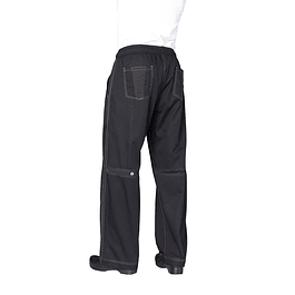Pantalon Baggy Cool Vent Negro