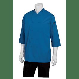 Chaqueta Basic 3/4 Sleeve Azul
