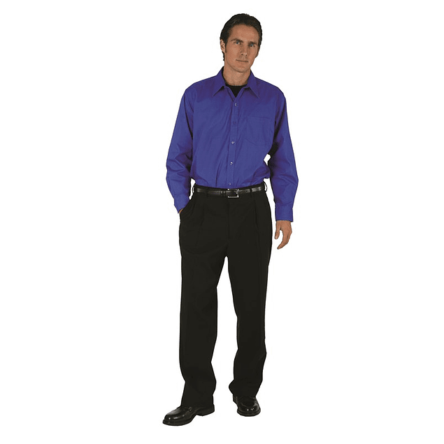 Camisa Dress Shirt Royal Blue (Azul Real)