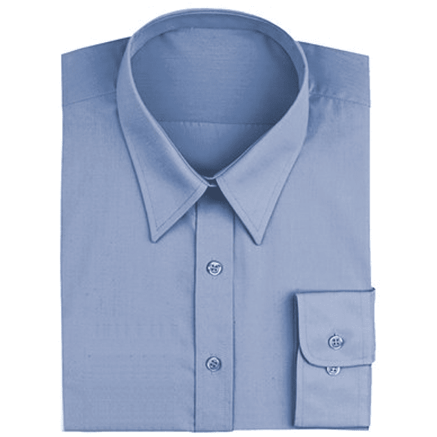 Blusa Dress Shirt French French Blue (Azul Francés)