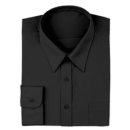 Camisa Dress Shirt Negra Negro