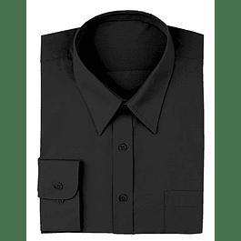 Camisa Dress Shirt Negra Negro