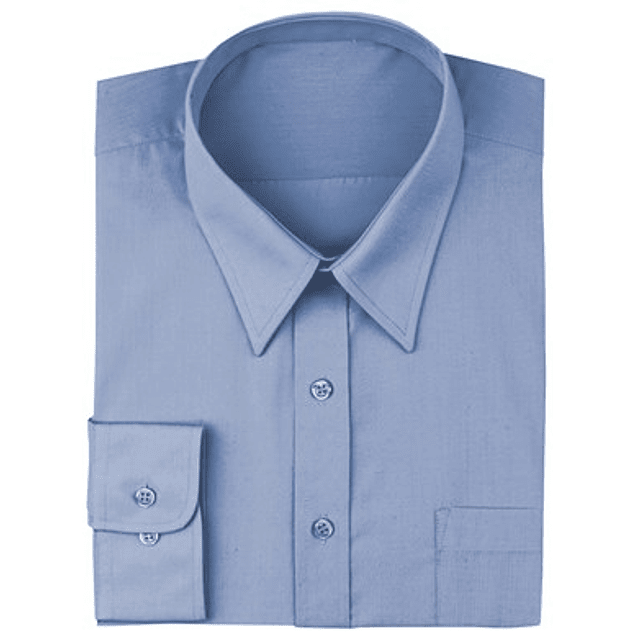 Camisa Dress Shirt French Blue