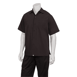 Camisa Cafe Shirt Negra Negro