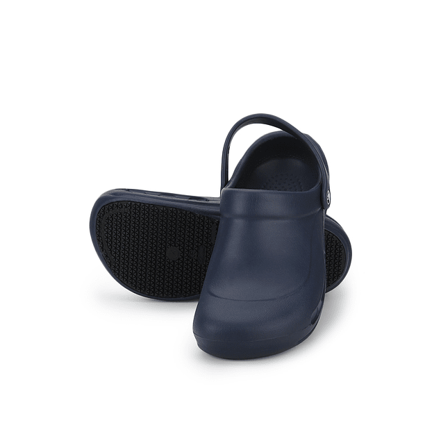 Zueco Crocs Bistro Azul