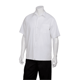 Camisa Cafe Shirt Blanco