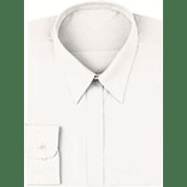 Blusa Clasica Mujer Blanca Blanco