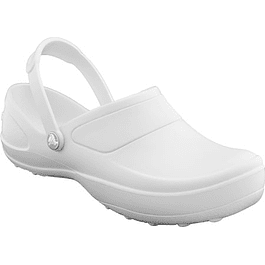 Zueco Crocs Mercy White Blanco