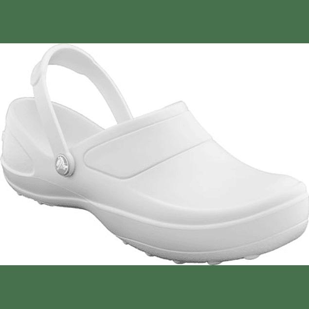 Zueco Crocs Mercy White Blanco