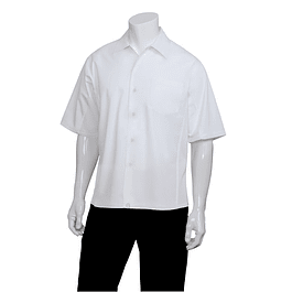Camisa Cool Vent Cook Shirt Blanca Blanco