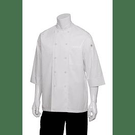 Chaqueta Basic 3/4 Sleeve Blanca Blanco