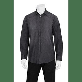 Camisa Denim Trenton Negra