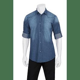 Camisa Trenton Denim Azul