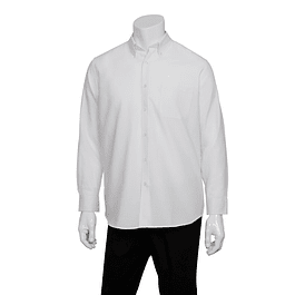 Camisa Oxford Blanco