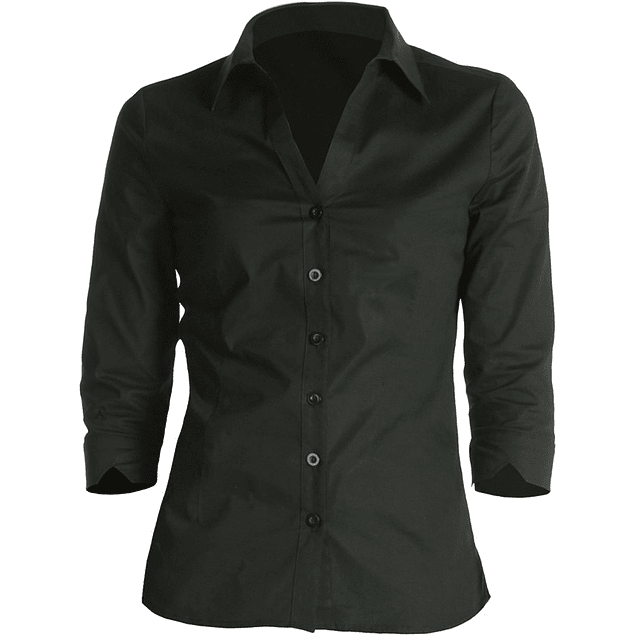 Blusa Wa34 Negra Negro
