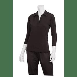 Blusa Definity Knit Shirt Negro