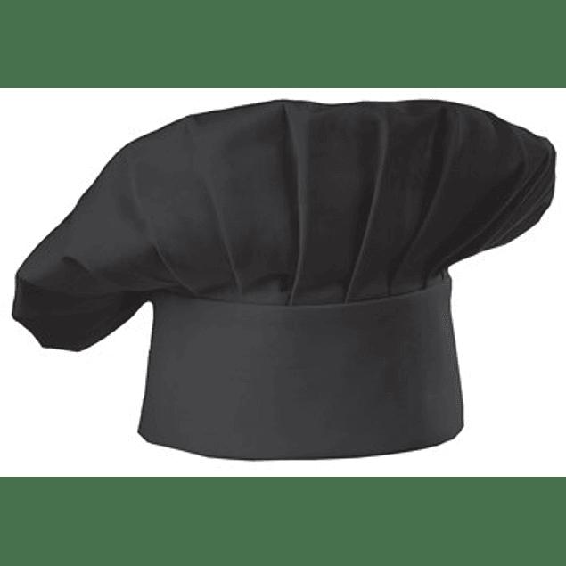 Chef Chef Hat Negro