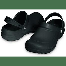 Zueco Crocs Bistro Black Negro