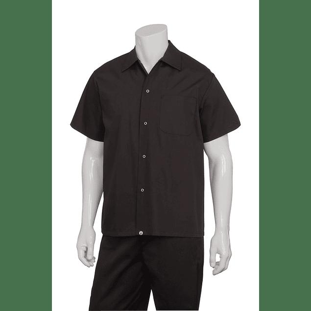 Camisa Utility Shirt Negra Negro