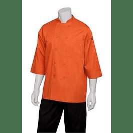 Chaqueta Basic 3/4 Sleeve Naranja