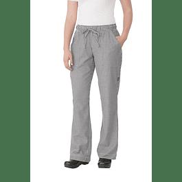 Pantalon Baggy Pie De Pool Mujer Small Check