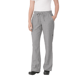 Pantalon Baggy Pie De Pool Mujer Small Check