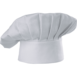 Gorro Chef Hat Blanco