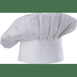 Gorro Chef Hat Blanco