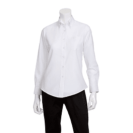 Blusa Oxford Blanca