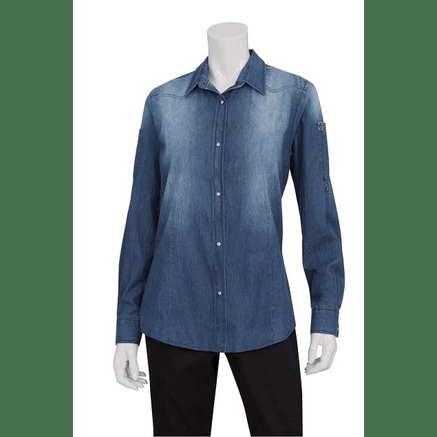 Blusa Urban Denim Azul