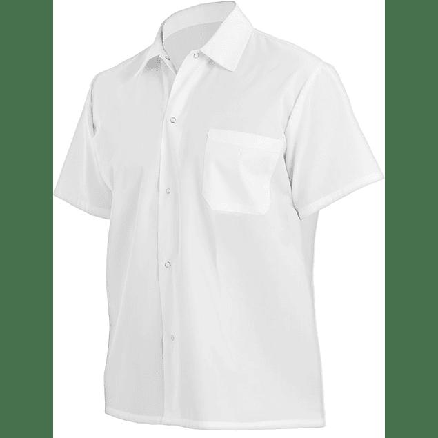 Camisa Utility Shirt Blanca Blanco