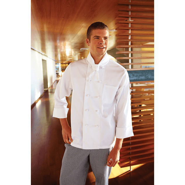 Pañuelo Gabardina Blanco Chef Works