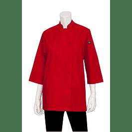 Chaqueta Basic 3/4 Sleeve Roja