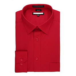 Camisa Dress Shirt Red - Roja