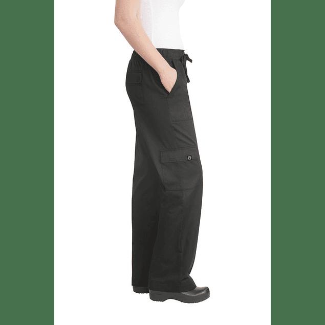 Pantalón Cargo Woman Negro