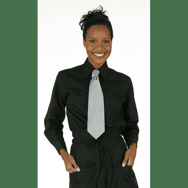 Blusa Clasica Mujer Negra Negro
