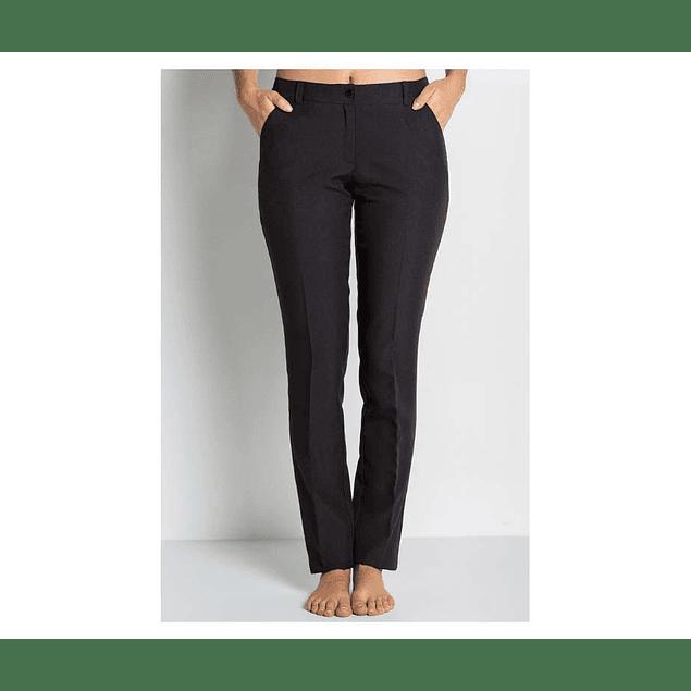 Pantalones De Tela Para Mujer Tienda Online De Zapatos Ropa Y Complementos De Marca