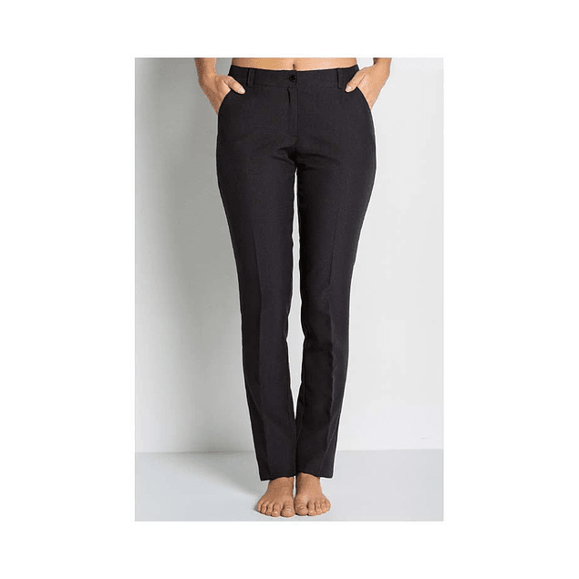 Pantalon Mujer Vestir Negro