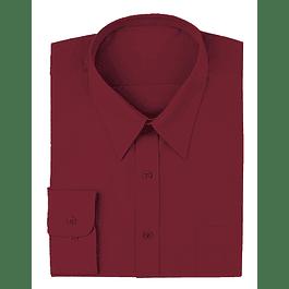 Camisa Dress Shirt Burgundy