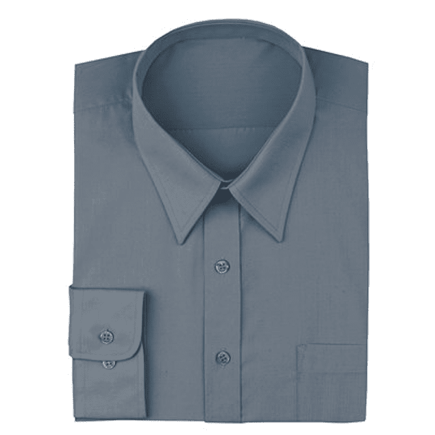 Camisa Dress Shirt Charcoal