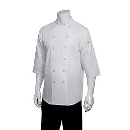 Chaqueta Chef Shirt Blanca Blanco