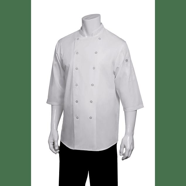 Chaqueta Chef Shirt Blanca Blanco