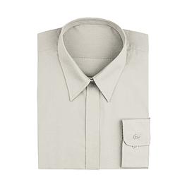 Blusa Dress Shirt Crema Cream
