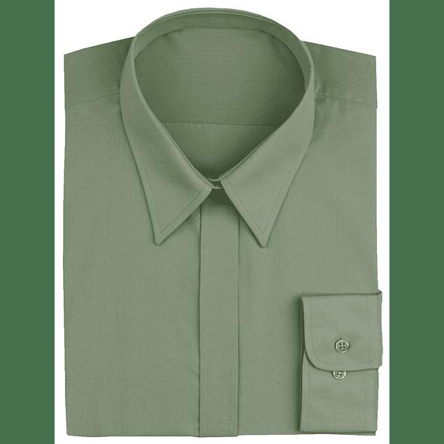 Blusa Dress Shirt Oliva Olive