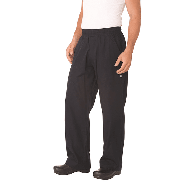 Pantalon H Chef Baggy Azul