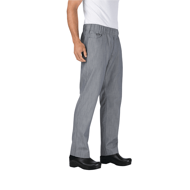 Pantalon Hombre Steel Blue Fine Stripe Vertical Str