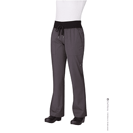 Pantalon M Chef Comfi Deep Gray Gris