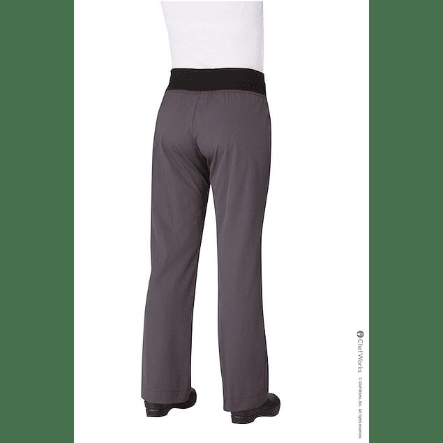 Pantalon M Chef Comfi Deep Gray Gris