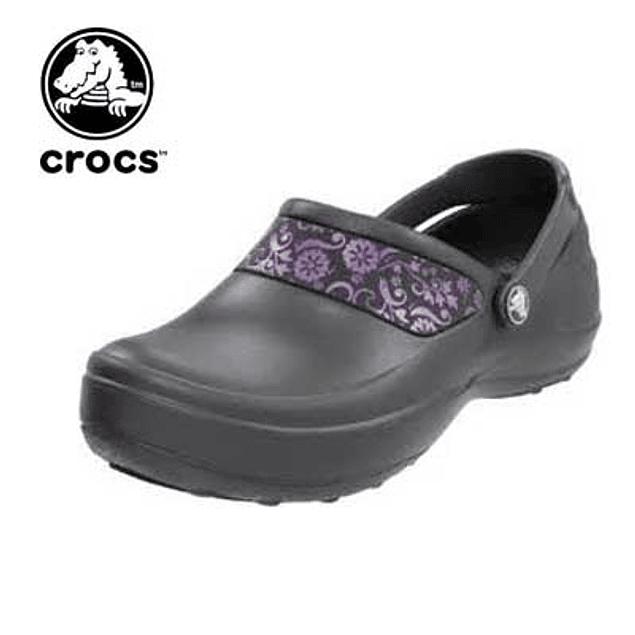 Zueco Crocs Mercy Gris