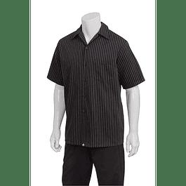 Cook Shirt M/C Pinstripe